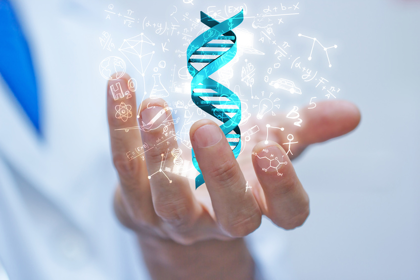 DNA Genetik bis zur Gentherapie