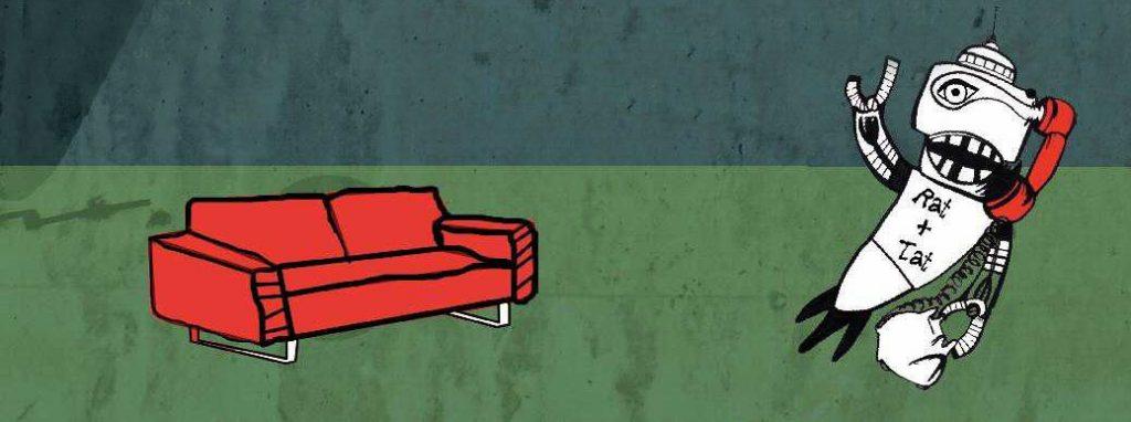 Das rote Sofa der Geschwister Scholl Realschule